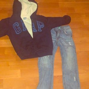 Boys size 4 outfit